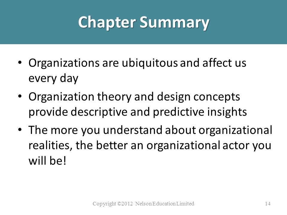 Power Point Presentation For Organizational Theory Design Ppt Video Online Download