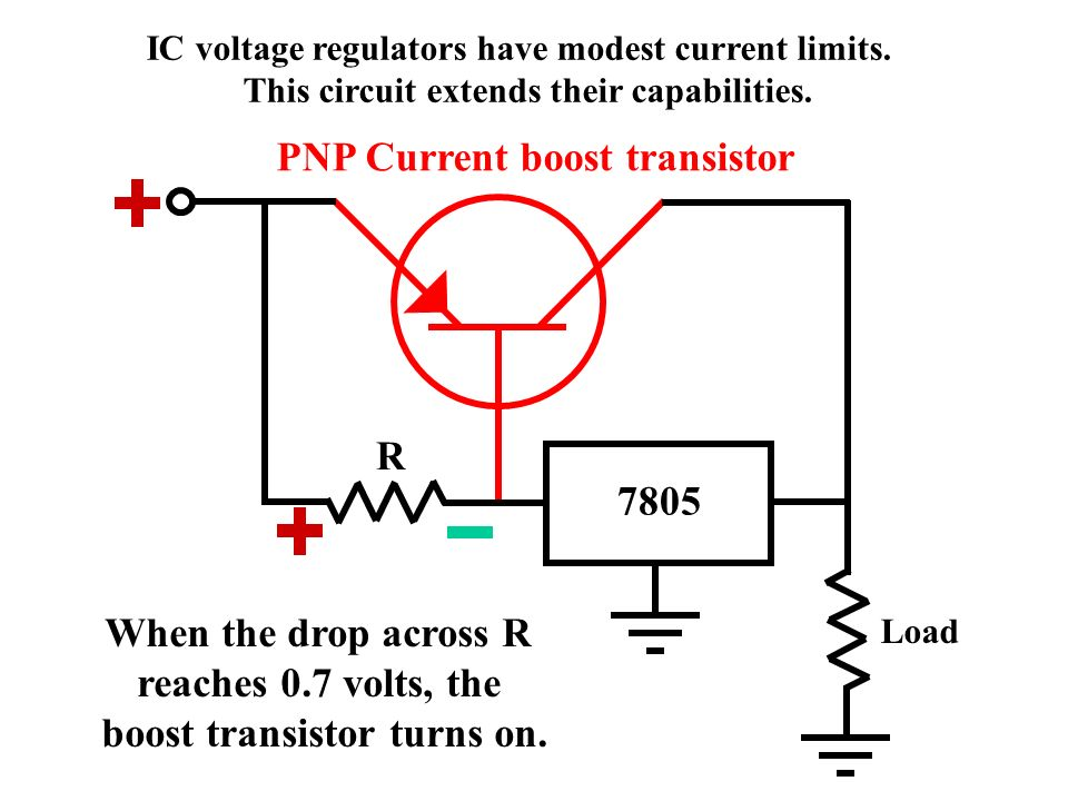 principles \u0026 applications ppt video online download8 pnp current boost transistor