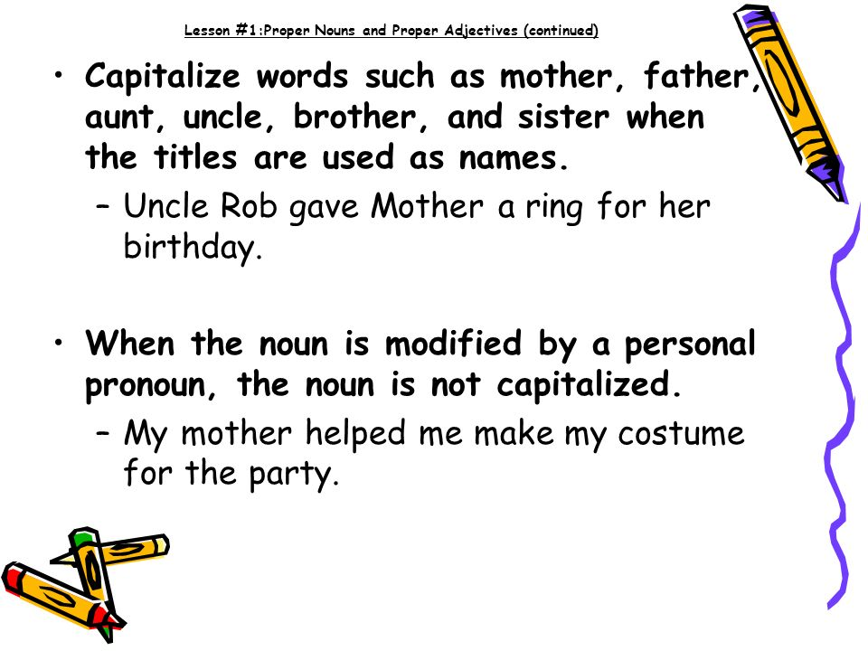 is birthday capitalized Capitalization! Lessons ppt video online download is birthday capitalized