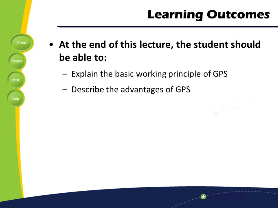 advantages and disadvantages of gps slideshare