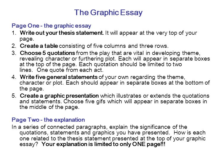 hamlet a graphic essay  ppt video online download the graphic essay page one  the graphic essay