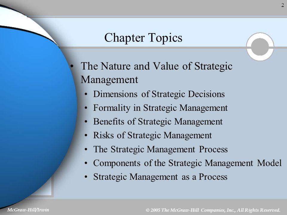 1 Chapter 1 Strategic Management  - ppt video online download