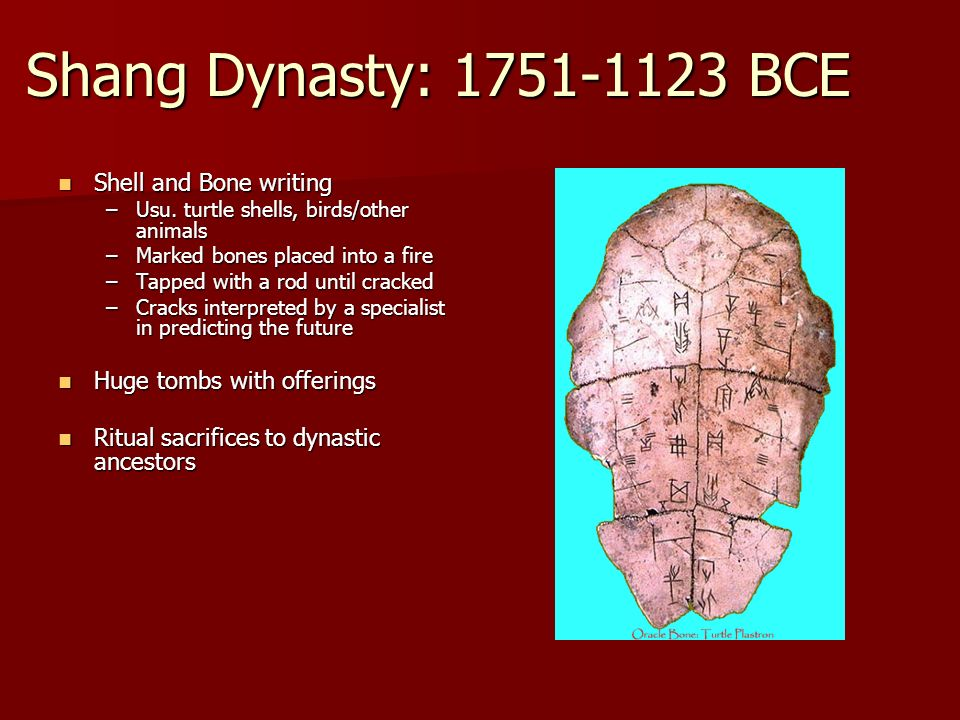 what event marked the beginning of the shang dynasty