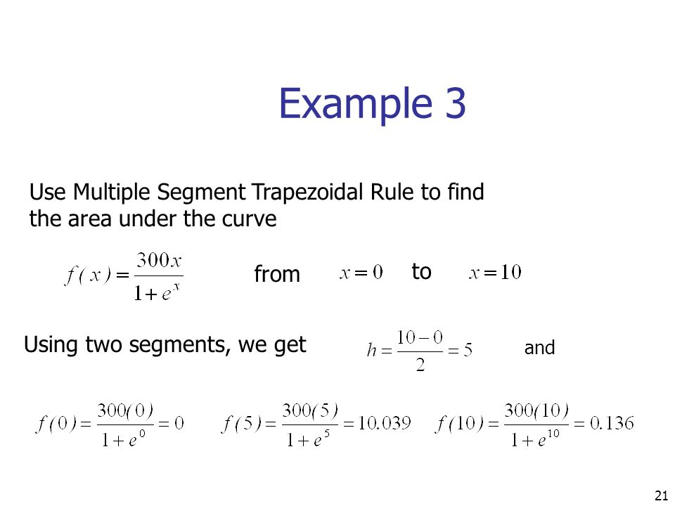 Simpson's rule example. Mp4 youtube.