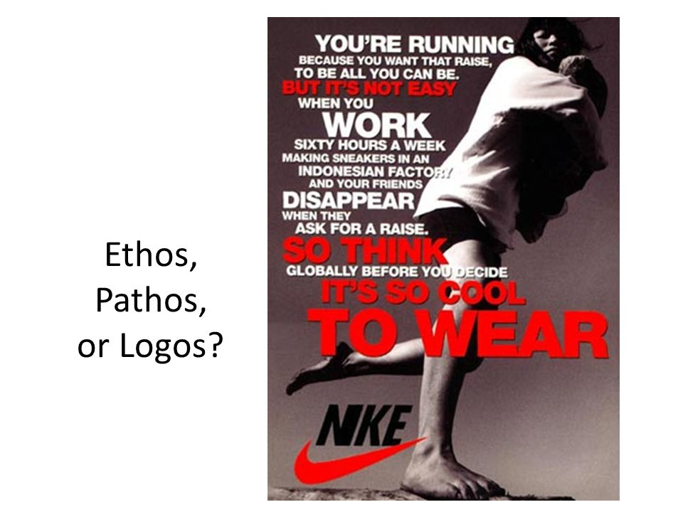 Ethos, Pathos, or Logos