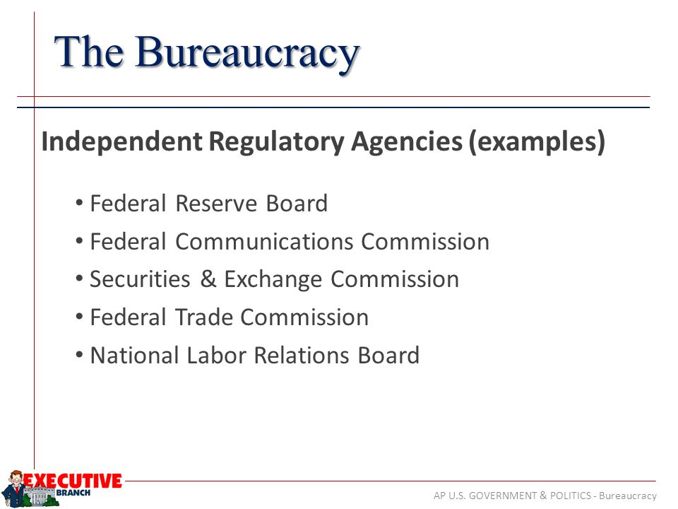 executive agencies us government
