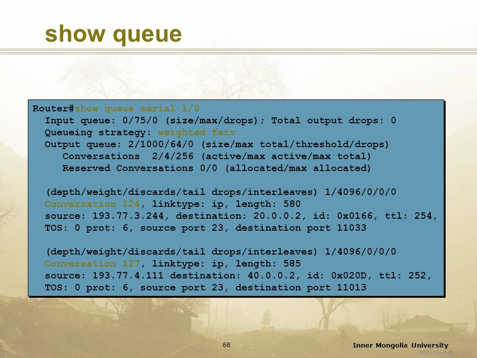 Queuing Mechanisms  - ppt download