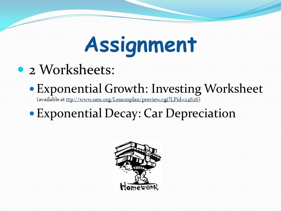 Exponential Growth Decay Ppt Download