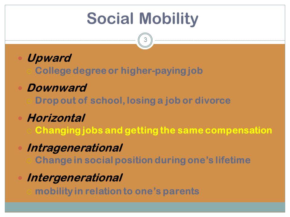 horizontal social mobility