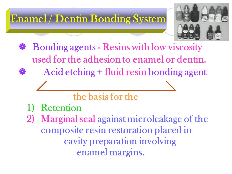 Enamel / Dentin Bonding System