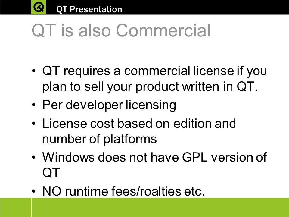 Cross-platform C++ development using Qt® - ppt video online download