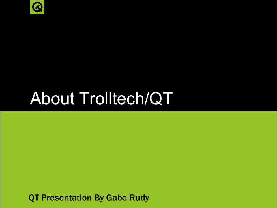 Trolltech qt download.