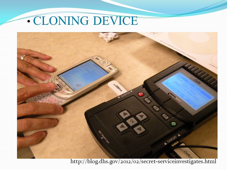 PHONE CLONING TECHNOLOGY - ppt video online download