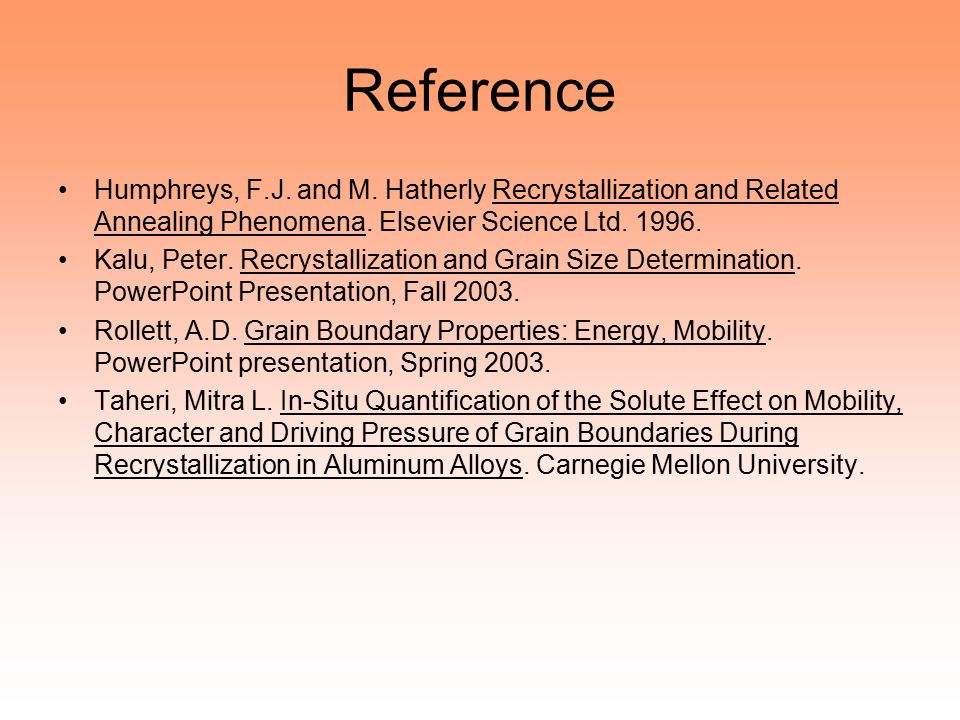 recrystallization and related annealing phenomena hatherly m humphreys f j