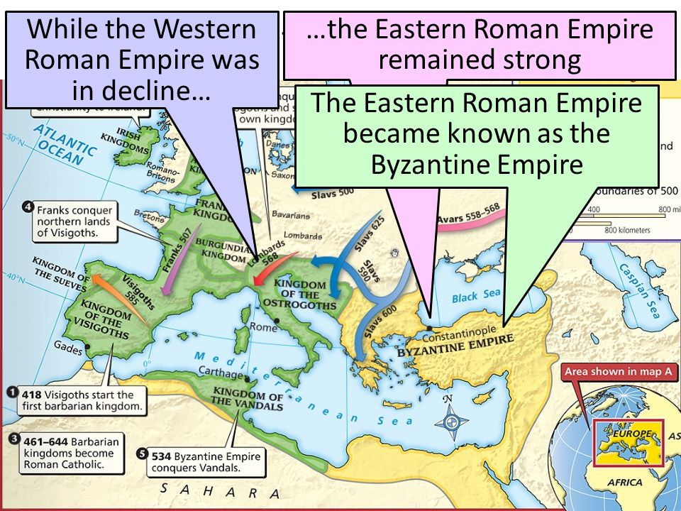 What Happened To The Roman Empire By 500 A D Ppt Video Online