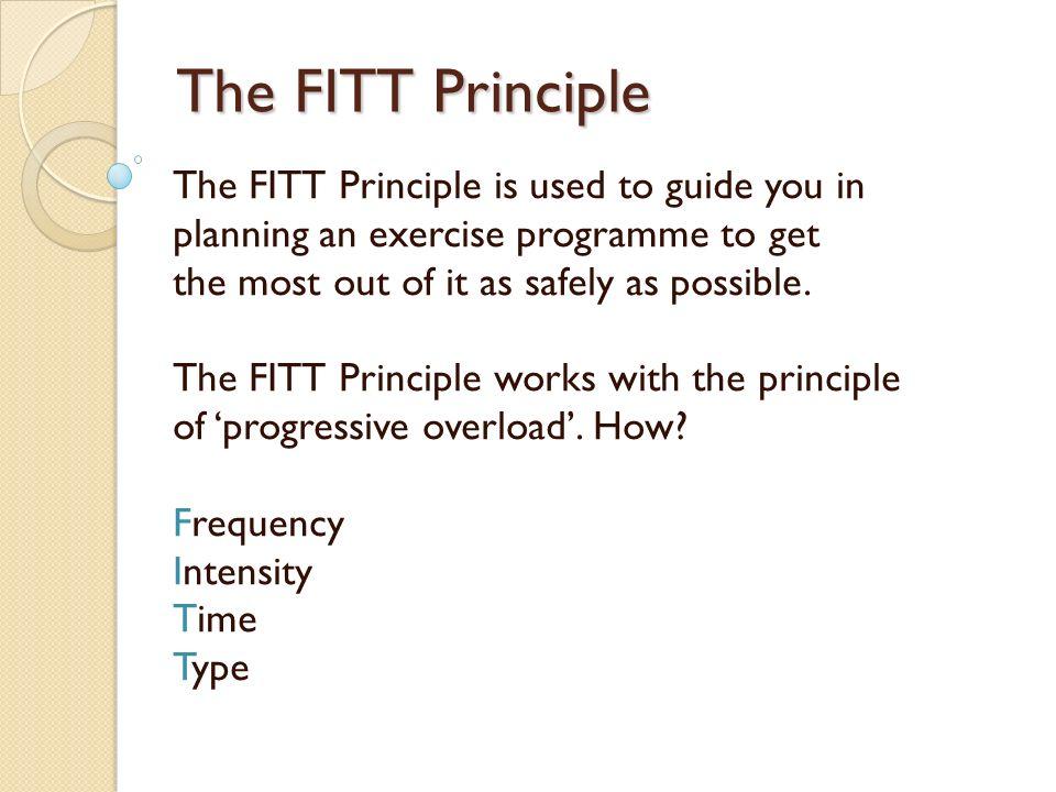 example of fitt plan