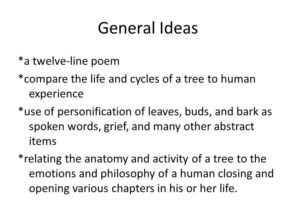 the trees philip larkin sparknotes
