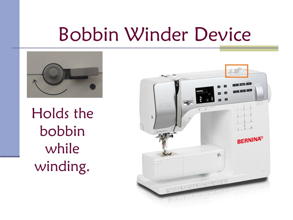 Parts of the Sewing Machine - ppt video online download
