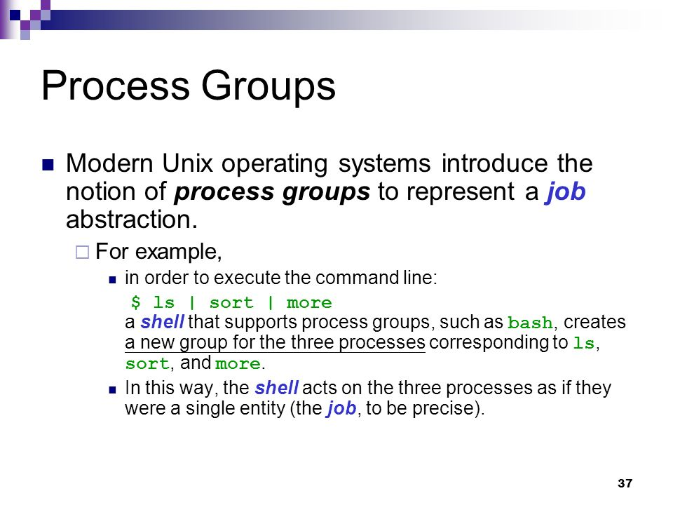 Linux Operating System - ppt download