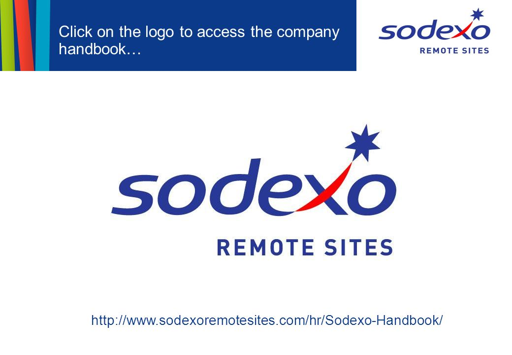Sodexo Remote Sites Induction For Onshore Employees - ppt video