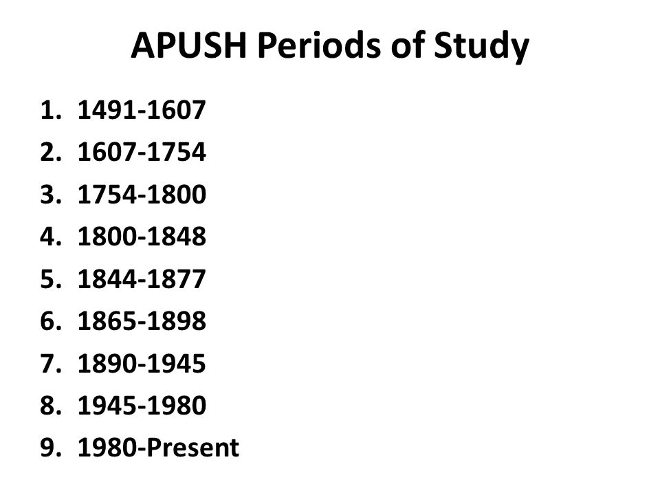 APUSH Dialogue with the Past collegeboard - ppt video online