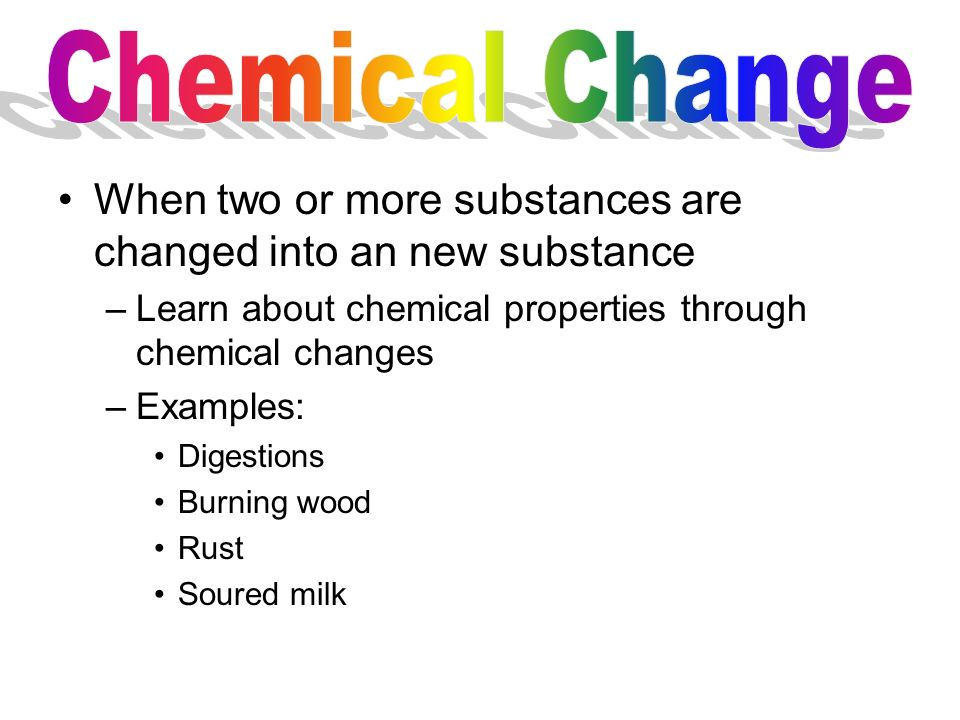 Chemical Properties Property Of Matter That Describes A Substances