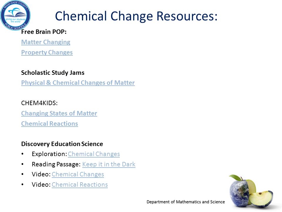 changes in matter big idea 9 sc 4 p ppt video online download rh slideplayer com Chemical Reactions Experiments Drawing Chemical Reaction
