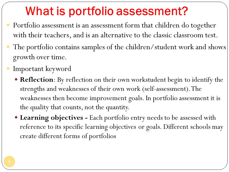 Topic 7 portfolio assessment ppt video online download what is portfolio assessment altavistaventures Gallery