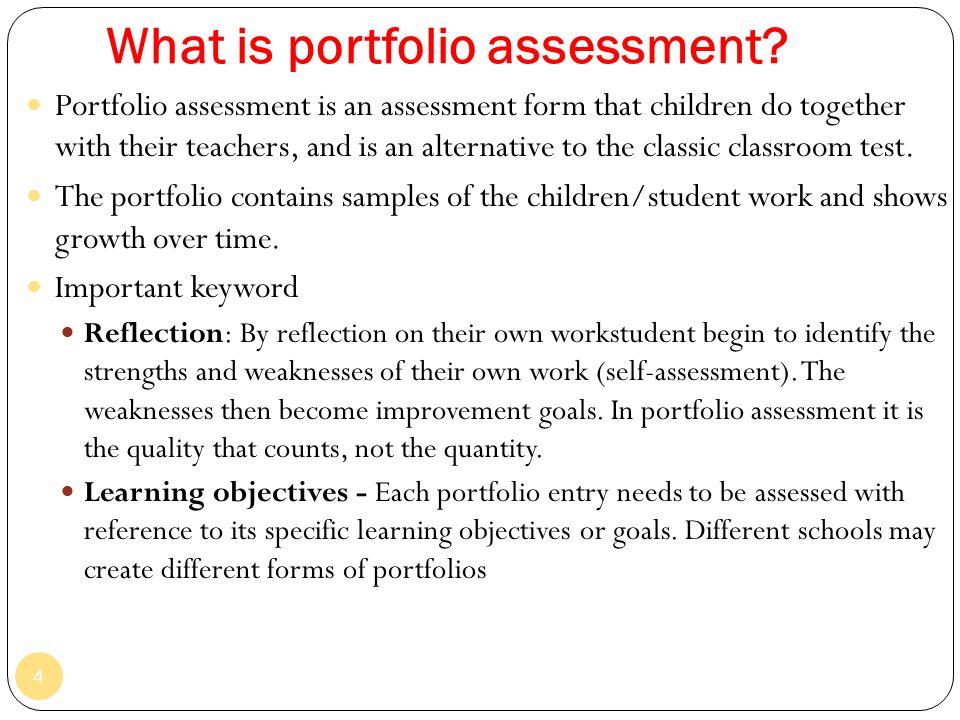Topic 7 portfolio assessment ppt video online download what is portfolio assessment thecheapjerseys Choice Image