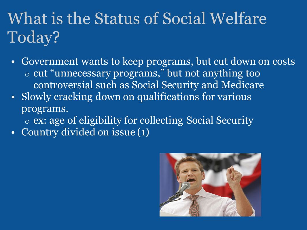 welfare controversial issue