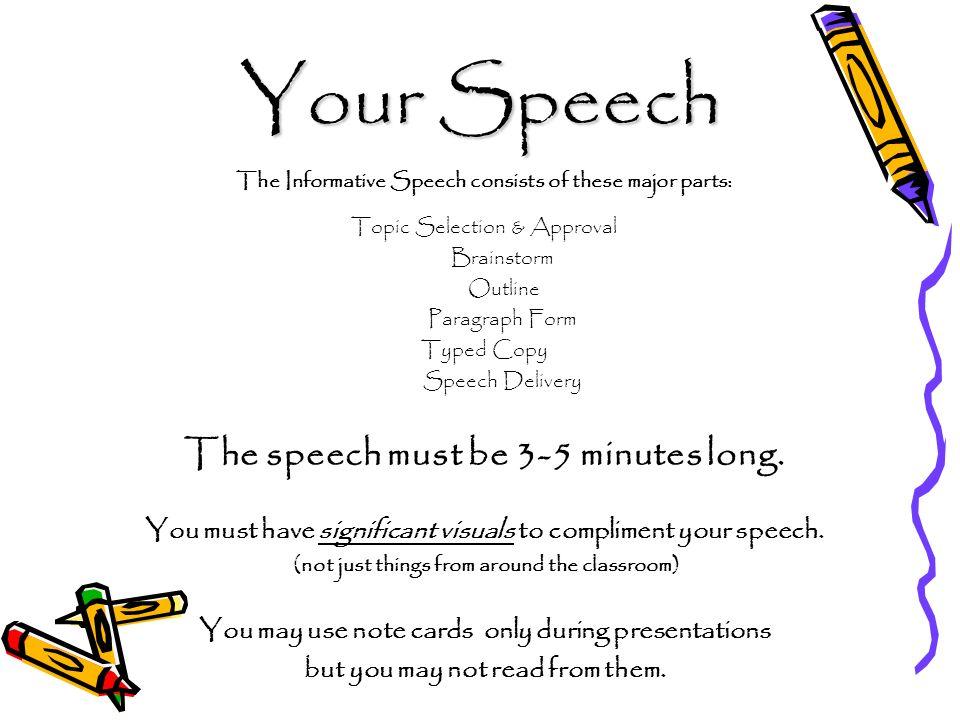 easy demo speech topics