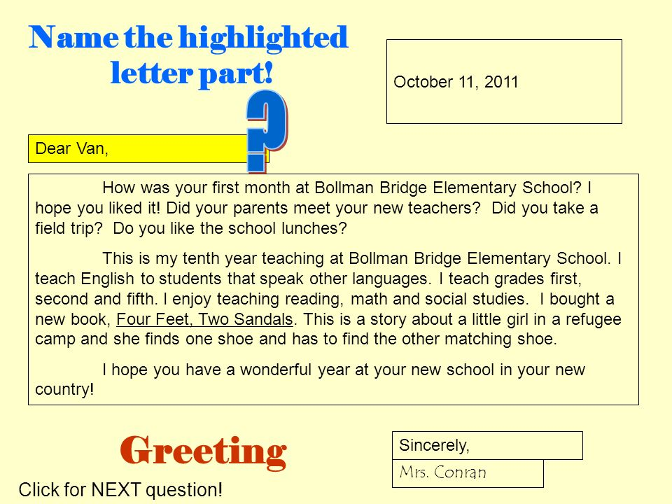 How do i write a friendly letter ppt video online download greeting m4hsunfo
