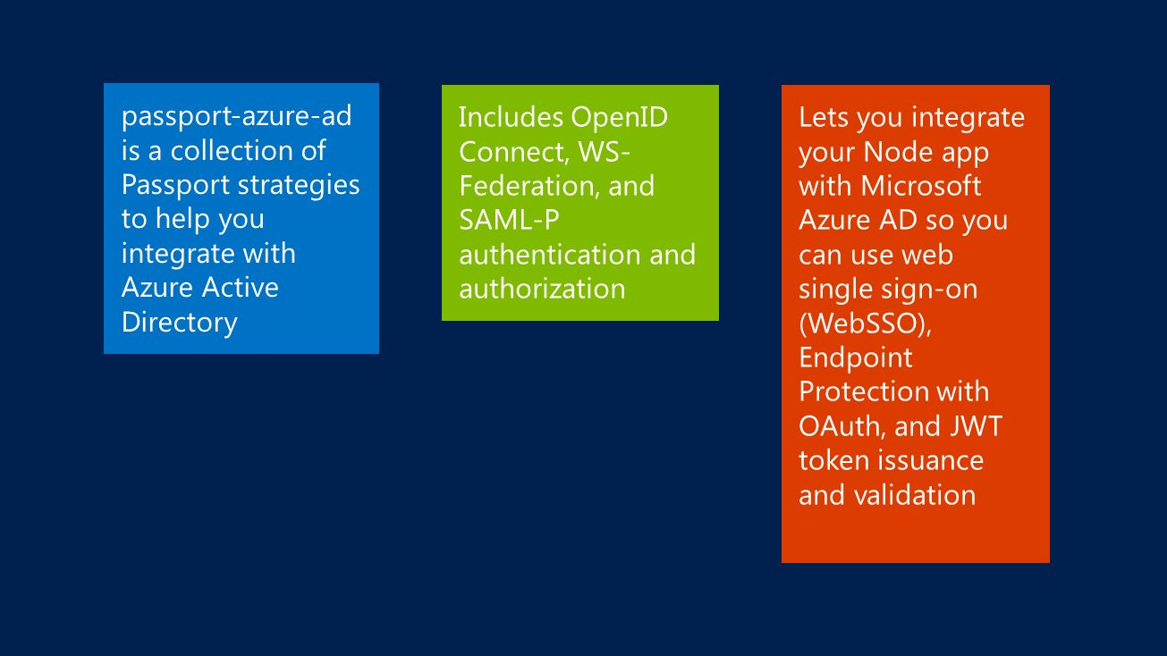 101 ways to authenticate with Azure Active Directory - ppt