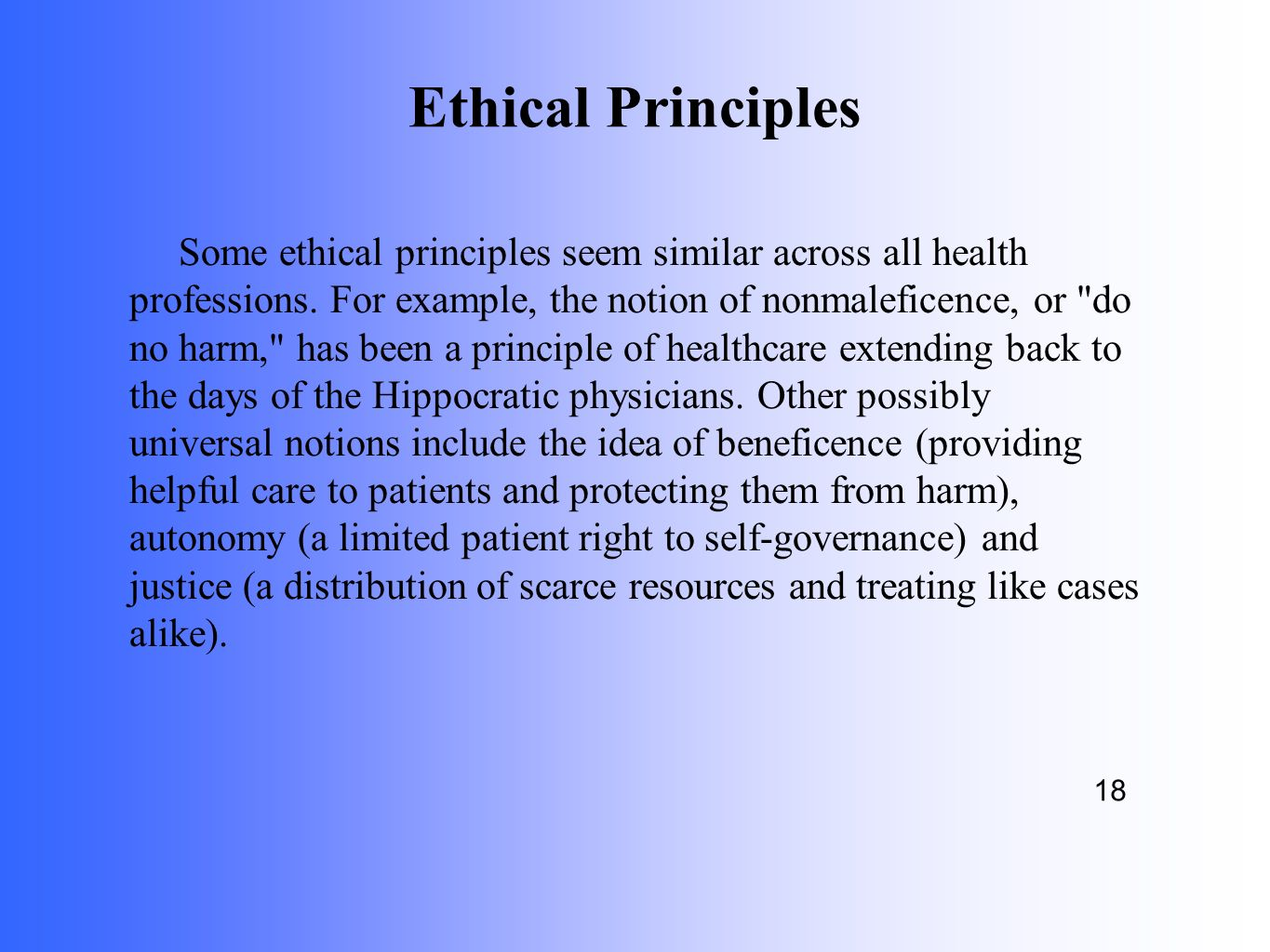 Why EMS Needs Its Own Ethics - ppt download