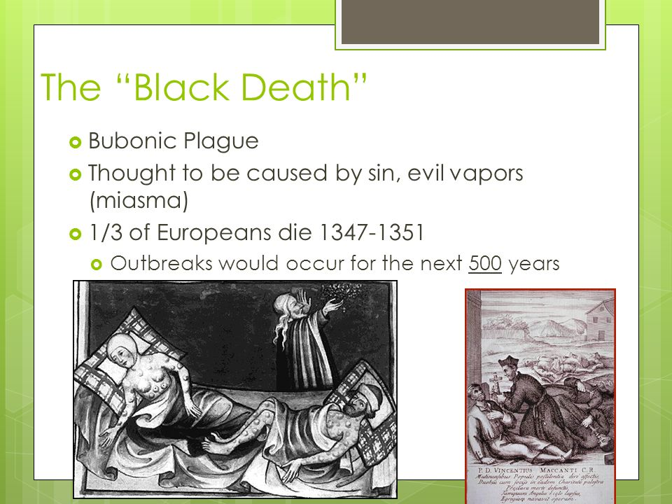 Results Of The Black Death Ppt Video Online Download