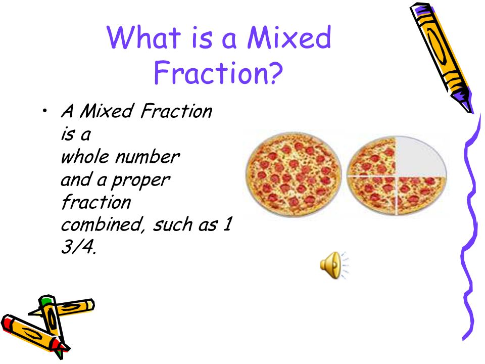 What Is A Mixed Fraction