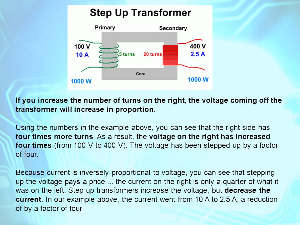 transformers ppt video online download rh slideplayer com  how to increase current in transformerless power supply