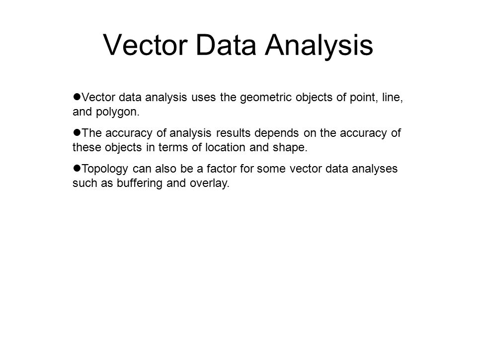 CHAPTER 11 VECTOR DATA ANALYSIS 11 1 Buffering - ppt download