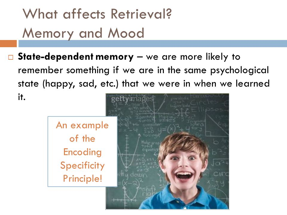 Memory Retrieval And Problems Ppt Video Online Download