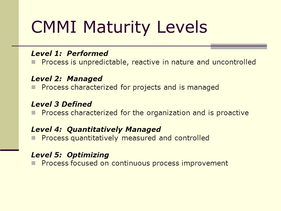 Requirements Development in CMMI - ppt video online download