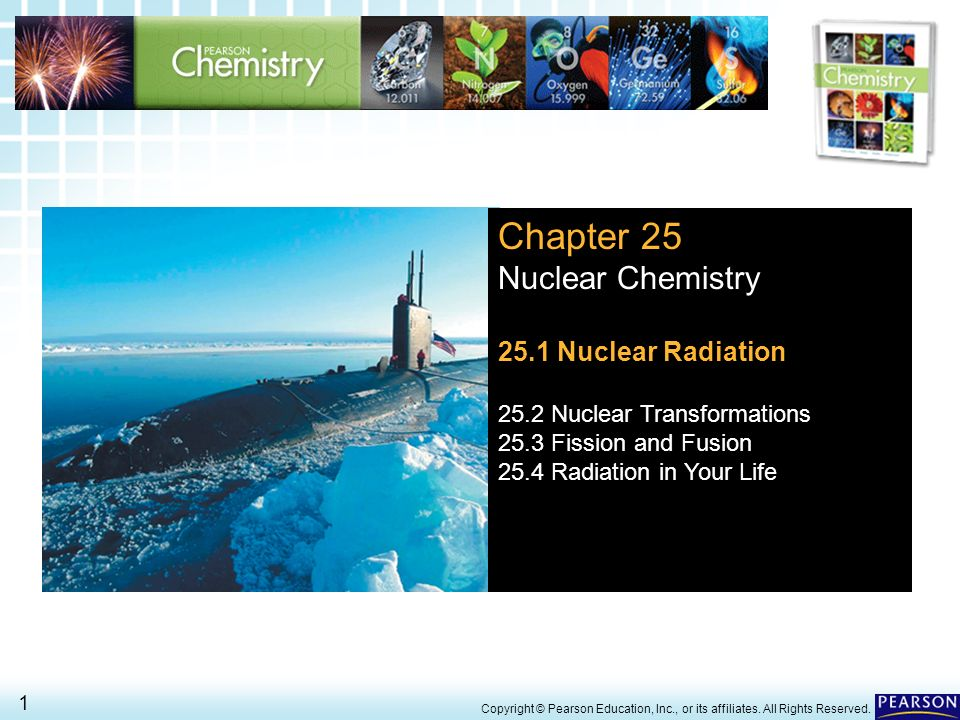 Chapter 25 Nuclear Chemistry 25.1 Nuclear Radiation - ppt download