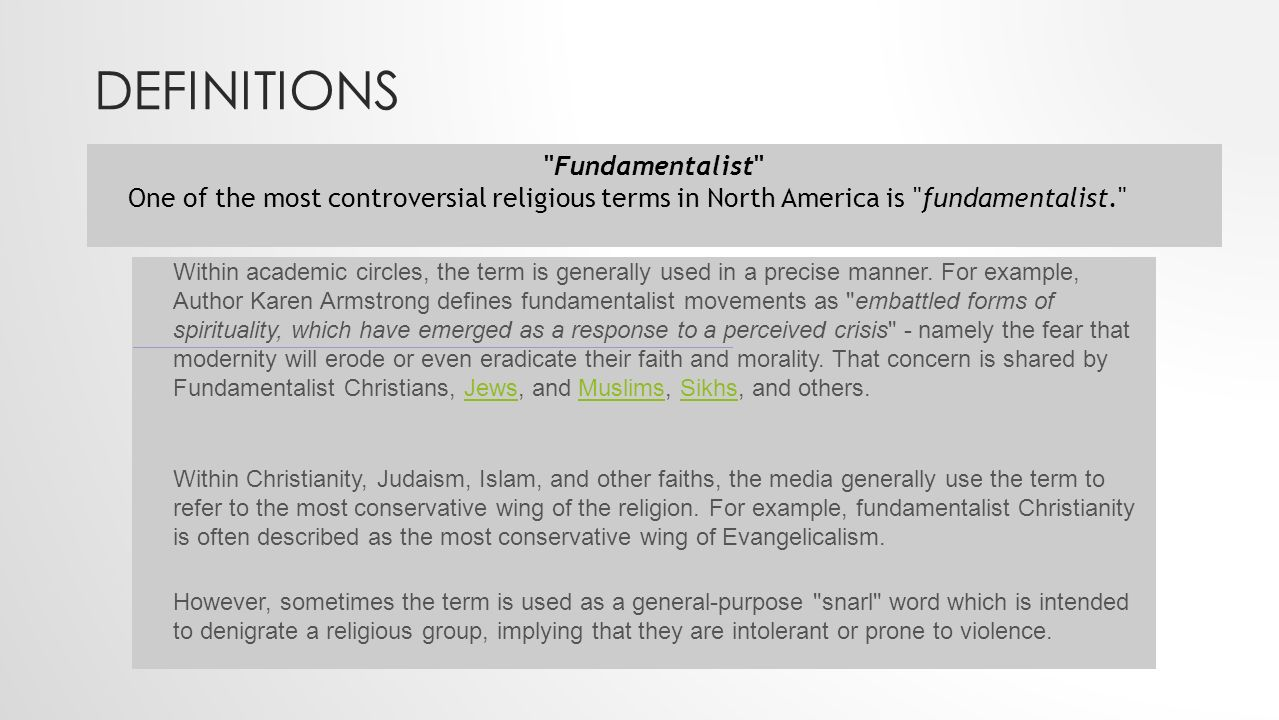 Religious Fundamentalismextremism Ppt Download
