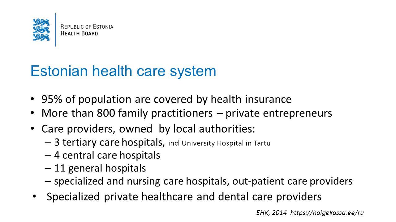 Some E- Health developments in Estonia - ppt video online