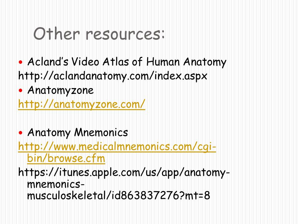 Introduction to Clinically Oriented Anatomy - ppt download