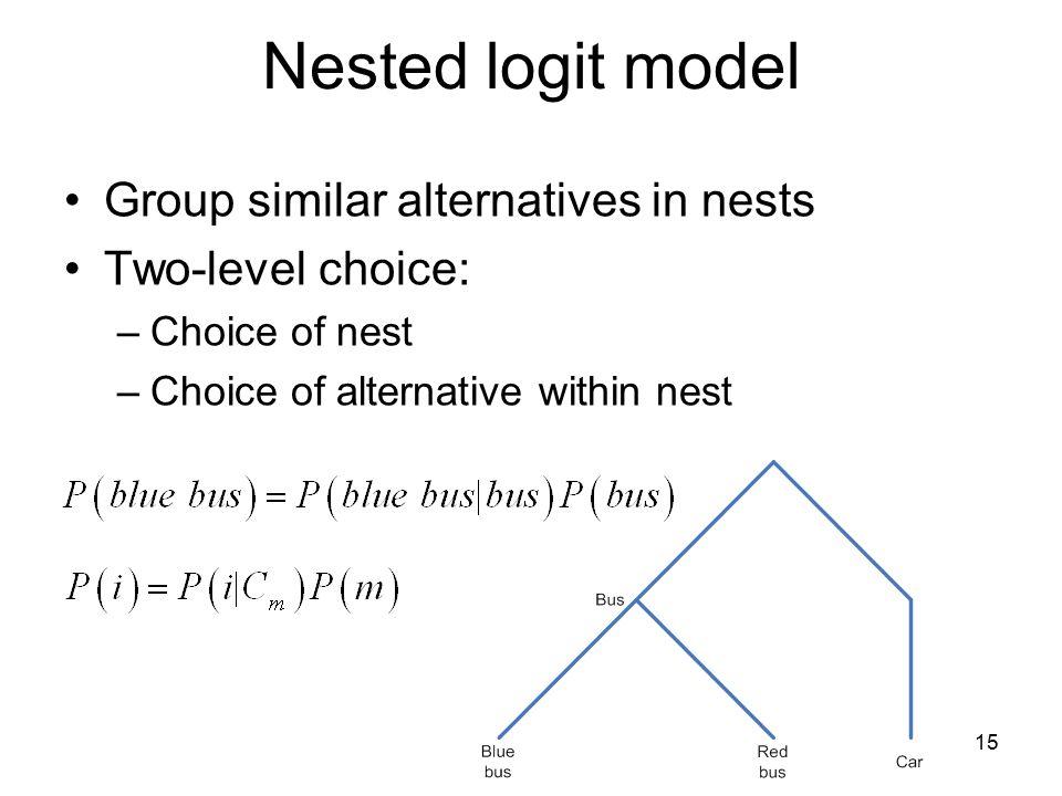 Nested Logit Models. - ppt video online download c929ebded1