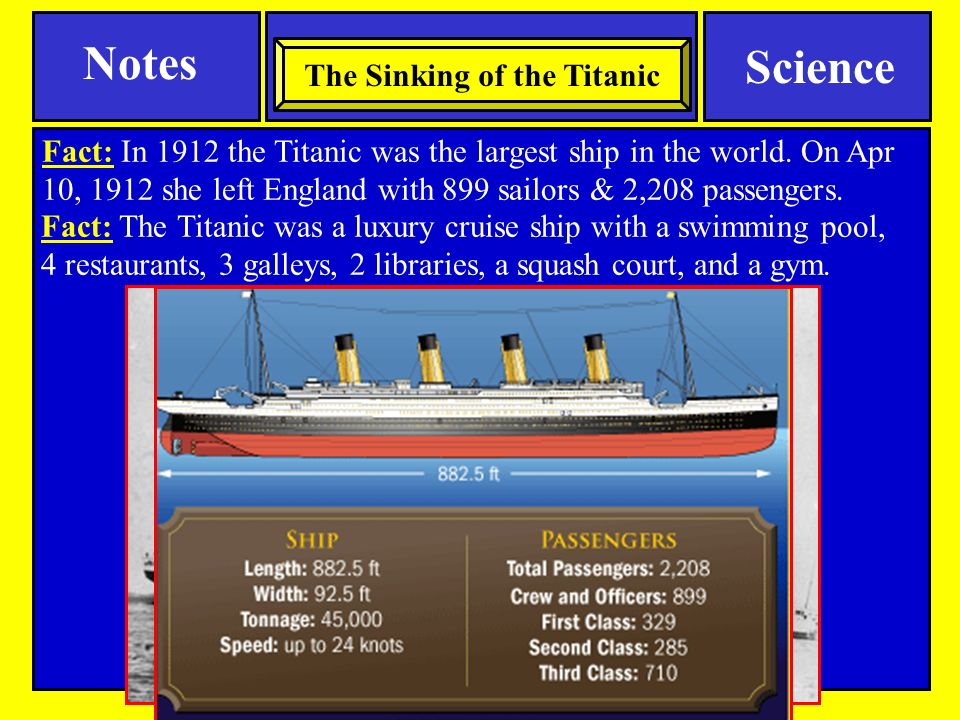 causes and effects of the titanic sinking