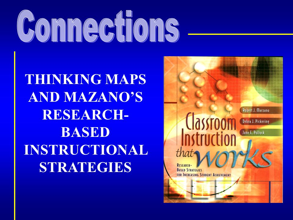 Thinking Maps And Mazanos Research Based Instructional Strategies
