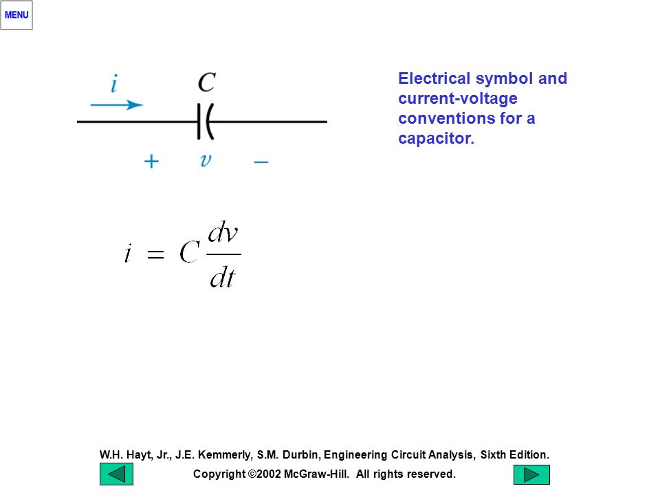 Chapter 7 Capacitors And Inductors Ppt Download