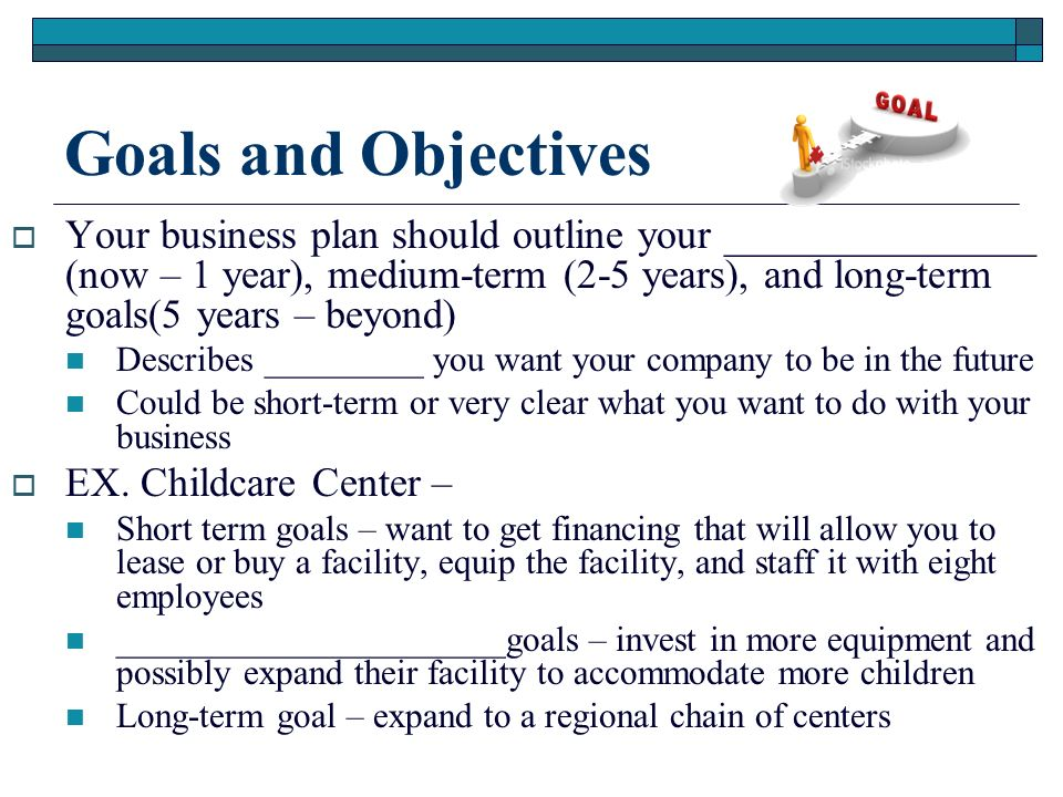 essay about goals and objectives Essay on goals and objectives goals are set of beliefs that people give themselves to accomplish and feel that life has a meaning, a purpose, a value having goals for some, gives them the answer they search for when trying to establish where they are in the world.