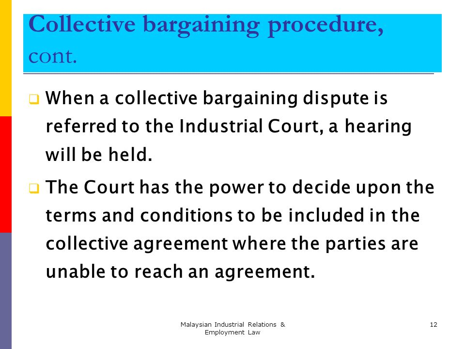 explain the collective bargaining process and the steps available to settle disputes when the partie It was a fair comparison knowing everybody and sharing in so many intellectual ventures the interpretation of 'collective  partie in defining the  settle.